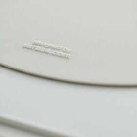 【4枚までメール便可・送料200円】IHクッキングヒーターの焦げや傷を防ぐシンプルなデザインのシリコン製マット[IHシリコンマット]