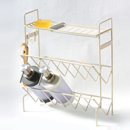 シャンプーラック シャワーラック バスラック [b2c バスワイヤー/シャンプースタンド]バス収納 バスグッズ 収納 浴室 収納