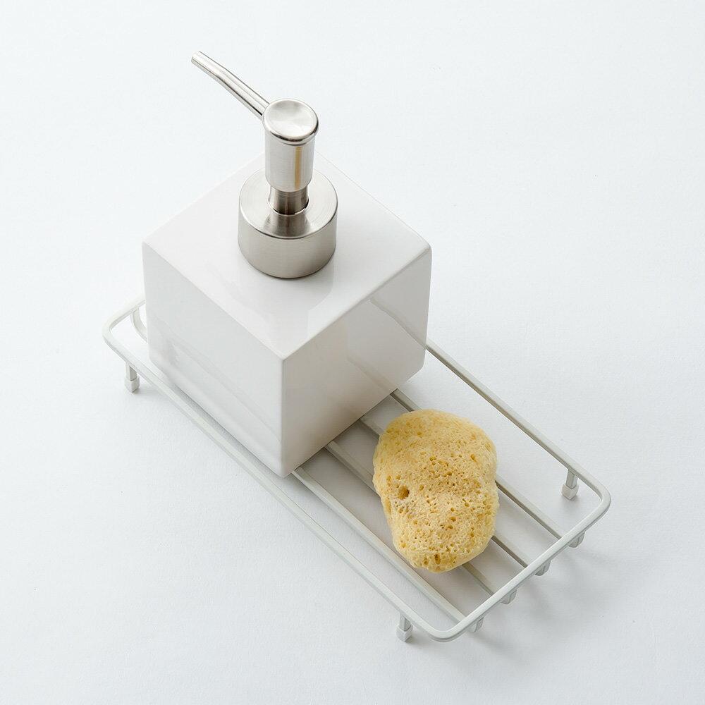 ソープディッシュ [《メール便可》b2c バスワイヤー トレー] 石鹸置き 石鹸ホルダー サラサデザインストア