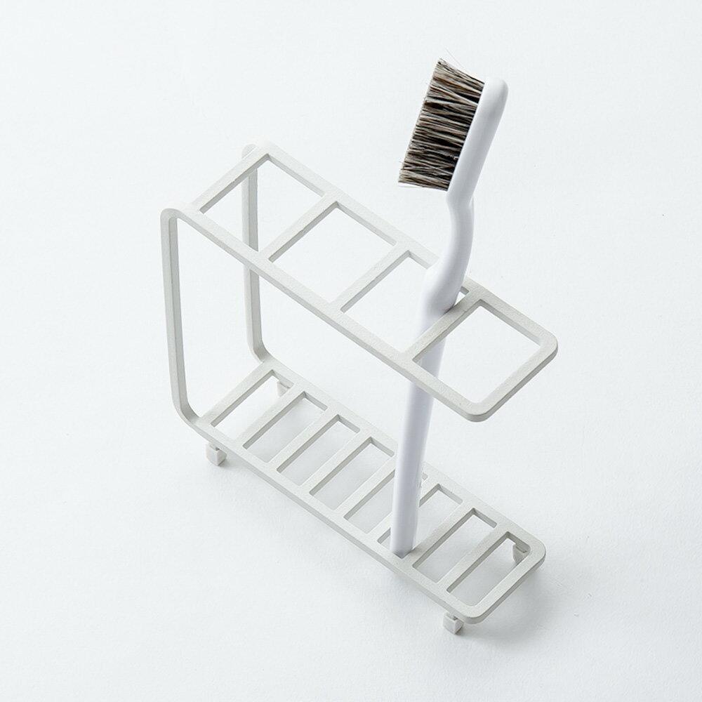 [b2c バスワイヤー/歯ブラシスタンド]|歯ブラシスタンド 歯ブラシホルダー 歯ブラシ立て