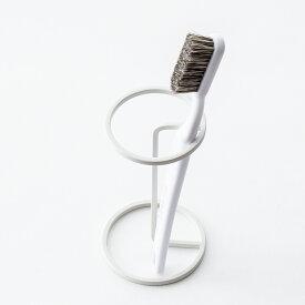 歯ブラシスタンド [b2c バスワイヤー 歯ブラシ&マグスタンド] 歯ブラシホルダー 歯ブラシ立て#SALE_BT