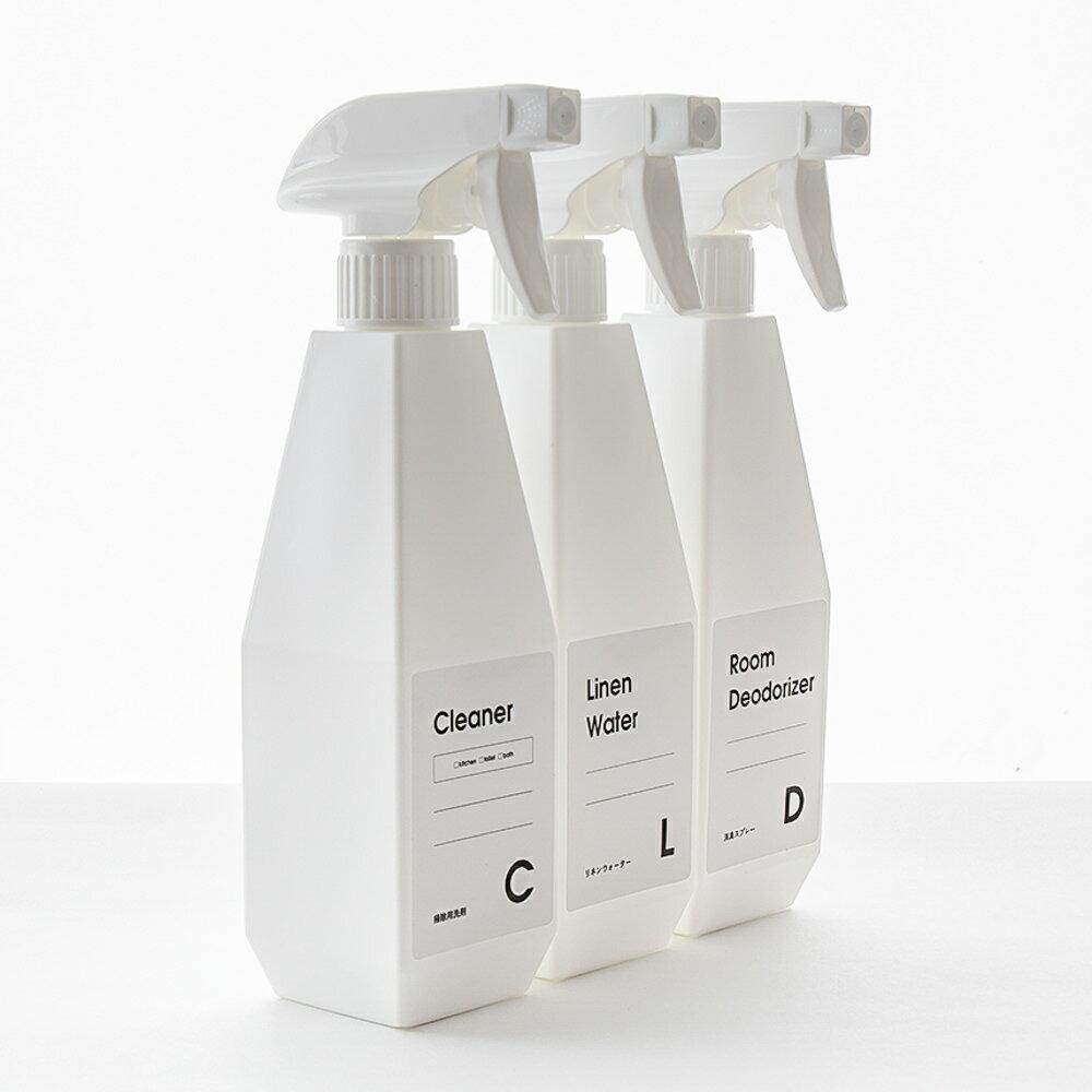 [b2c スプレーボトル(ローション・ムースタイプ)500ml ]キッチン洗剤 トイレ洗剤 お風呂洗剤