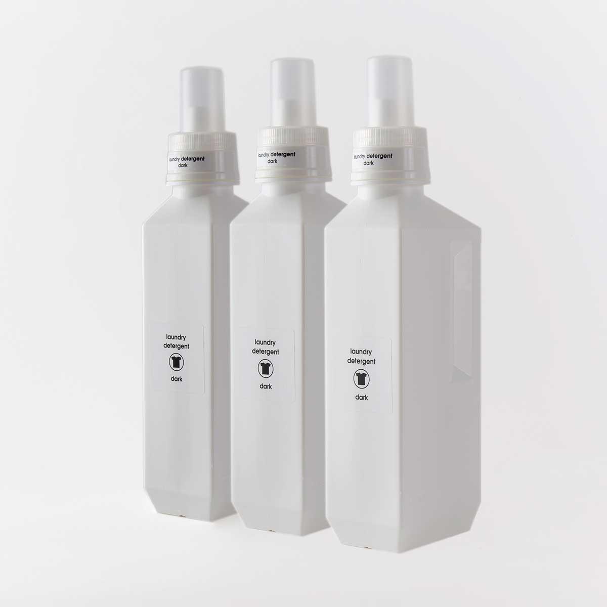洗濯洗剤・柔軟剤の詰め替えボトル [b2c ランドリーボトルL 1000ml] サラサデザインストア