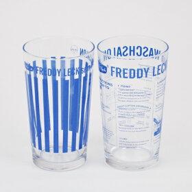 [フレディレック/FreddyLeckタンブラー2P]|フレディレックのオリジナルタンブラーの2個セット。ランドリータイムの一息に。