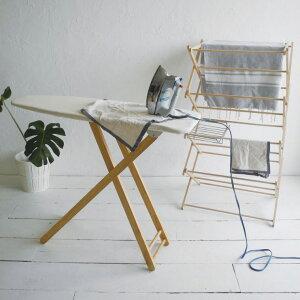 バスタオル ハンガー 木製 折りたたみ [〈BIERTA ビエルタ〉クロスドライヤー] 物干し タオル干し 部屋干し#SALE_LA