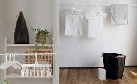 洗濯ばさみ洗濯バサミピンチデザイン[b2cランドリーシリーズ/シンプルピンチホワイト(5個入り)](by_sarasa-design)