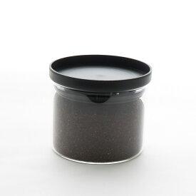 キャニスター 保存容器[b2c 耐熱ガラス キャニスター S 300ml]密封 コーヒー 砂糖 シュガー 塩 ソルト 紅茶 ティー ティーパック#SL_KT