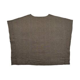b2cリネンドレープシャツ