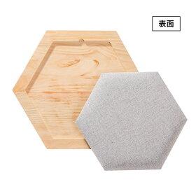 〈MYZOOマイズー〉六角ハウスビジーキャット用プレートクッション