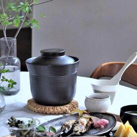 [〈sarasa design × イブキクラフト 〉ごはん鍋|三合炊]ご飯鍋 炊飯土鍋 土鍋 炊飯鍋 3合炊き#SL_TB