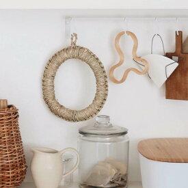 鍋敷き 鍋しき [《メール便可》イ草鍋敷 Φ180mm] キッチン#SL_TB