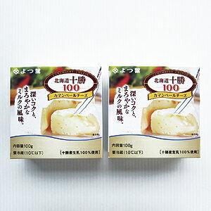 【よつ葉】北海道 十勝 100 カマンベールチーズ100g×2個