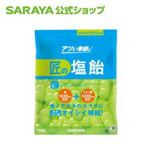 サラヤ 匠の塩飴 マスカット味 750g 夏 塩分 糖分 水分 補給 サラヤ公式ショップ