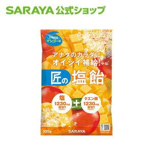 【季節限定】サラヤ 匠の塩飴マンゴー味 100g