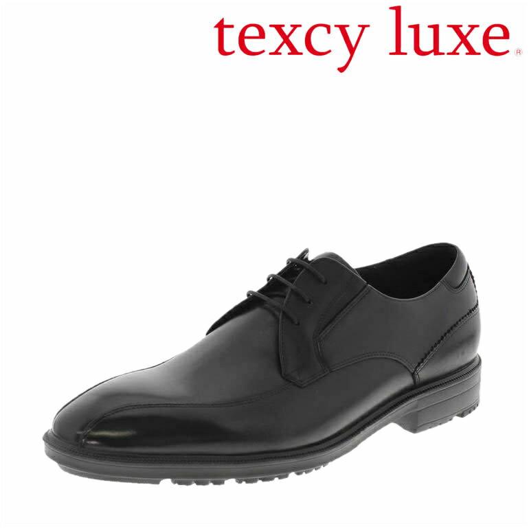 【 送料無料 】歩きやすさを追求した「テクシーリュクス」ビジネスシューズ!asiics trading 革靴 アシックス商事 スワールモカ メンズ[asics アシックス texcy luxe 本革 レザー 革靴 ビジネスシューズ 黒 ブラック BLACK スワールモカ 消臭 幅広 2E 抗菌]【即日出荷】