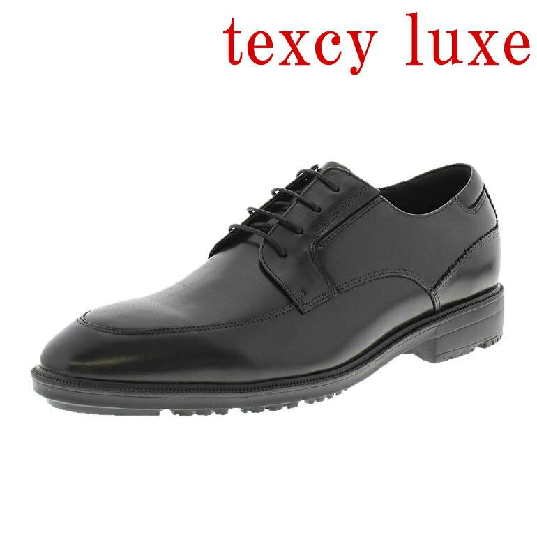 【 送料無料 】texcy luxe 靴 テクシーリュクス 革靴 紳士靴 メンズ 男性用/TU-7791-008 [本革 ビジネスシューズ ビジネス 革 本革ビジネス 靴 革靴 黒 ブラック 定番 おすすめ 紳士 メンズ シューズ]【即日出荷】