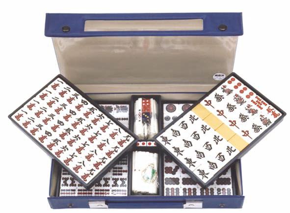 ケース付き麻雀牌(竹)