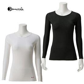 【メール便可】ジェーンスタイル【Janestyle】コンプレッションクルーネックシャツ JS388 着圧 肌着 消臭 UVカット