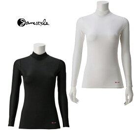 【メール便可】ジェーンスタイル【Janestyle】コンプレッションハイネックネックシャツ JS389 着圧 肌着 消臭 UVカット