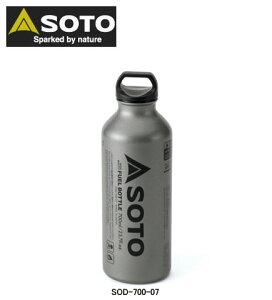 新富士バーナー(SOTO) SOTO広口フューエルボトル700ml SOD-700-07 MUKAストーブ専用燃料ボトル