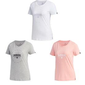 【メール便可】【アディダス】レディース W グラフィック 半袖 Tシャツ GVC50 ウェア