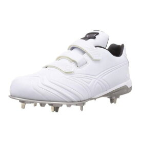 ■▼エスエスケイ プロエッジTT-V-W ESF3019-1010 野球スパイク 高校野球公認 ホワイト 白 樹脂底金具