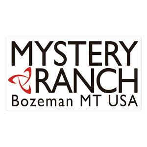 【メール便可】MYSTERYRANCH(ミステリーランチ)ヘリテージ ロゴ ステッカー 19761240 シール