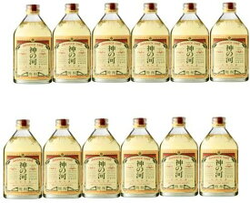 神の河 長期貯蔵麦焼酎 25度 720ml×12本 <家飲み> <飲みすぎ注意!!>
