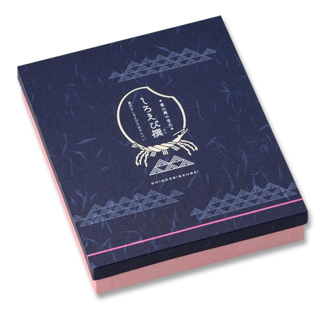 36枚しろえび撰 化粧箱入(しろえびせんべい 富山土産 ギフト)