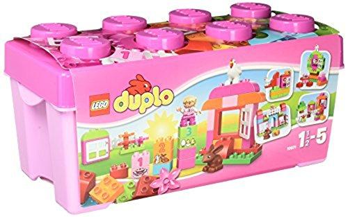 新品 レゴ (LEGO) デュプロ ピンクのコンテナデラックス 10571