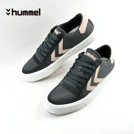ヒュンメル hummelSTADIL RMX LOW ライフスタイル スタディール ローカット アスファルト(ASPHALT(25cm〜)) HM65100 スニーカー メンズ ユニセックス シューズ 靴