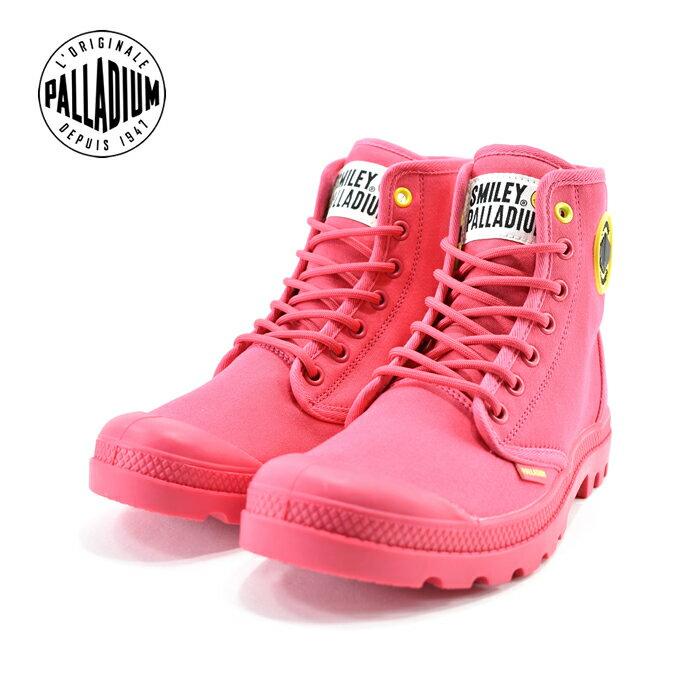 25% OFF SALEパラディウム PALLADIUMPAMPA SMILEY FEST BAG パンパ スマイリー フェスト バッグ ハイカット 通学・通勤 カジュアル アザレア ピンク(AZALEA(〜24.5cm)) 76074 スニーカー レディース ユニセックス シューズ 靴