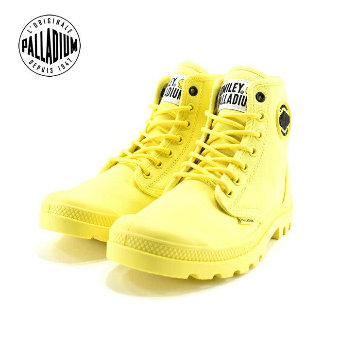 25% OFF SALEパラディウム PALLADIUMPAMPA SMILEY FEST BAG パンパ スマイリー フェスト バッグ ハイカット 通学・通勤 カジュアル ブレイジングイエロー(BLAZING YELLOW(〜24.5cm)) 76074 スニーカー レディース ユニセックス シューズ 靴