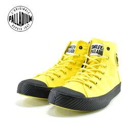 25% OFF SALEパラディウム PALLADIUMPALLAPHOENIX SMILEY Z パラフェニックス スマイリー Z ハイカット 通学・通勤 カジュアル ブレイジングイエロー(BLAZING YELLOW(〜24.5cm)) 76076 スニーカー レディース ユニセックス シューズ 靴
