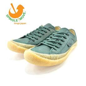 スピングルムーヴ SPINGLE MOVESPINGLE MOVE スピングルムーヴ ローカット カウレザー・牛革 日本製 通学・通勤・ウォーキング ダークグリーン(DARK GREEN(25cm〜)) SPM203 スニーカー メンズ ユニセックス シューズ 靴