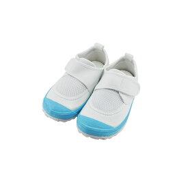 新日本教育シューズ教育パワーシューズ 14.0cm〜22.5cm うわばき 内履き 上靴 マジックテープ 面ファスナー ベルクロ 外反母趾 内反小趾予防 水色(ライトブルー) POWER 上履き キッズ ジュニア 子供 男の子 女の子 シューズ 靴