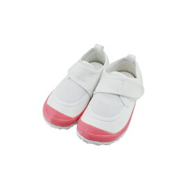 新日本教育シューズ教育パワーシューズ 14.0cm〜22.5cm うわばき 内履き 上靴 マジックテープ 面ファスナー ベルクロ 外反母趾 内反小趾予防 (ピンク) POWER 上履き キッズ ジュニア 子供 女の子 シューズ 靴