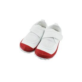 新日本教育シューズ教育パワーシューズ 14.0cm〜22.5cm うわばき 内履き 上靴 マジックテープ 面ファスナー ベルクロ 外反母趾 内反小趾予防 赤 エンジ(レッド) POWER 上履き キッズ ジュニア 子供 男の子 女の子 シューズ 靴