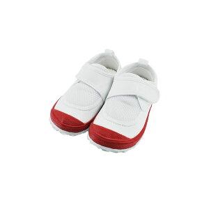 新日本教育シューズ教育パワーシューズ 14.0cm〜22.5cm うわばき 内履き 上靴 マジックテープ 面ファスナー ベルクロ 外反母趾 内反小趾予防 赤 エンジ(レッド) POWER 上履き キッズ ジュニア 子