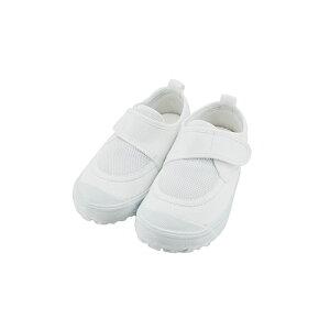 新日本教育シューズ教育パワーシューズ 13.0cm〜22.5cm うわばき 内履き 上靴 マジックテープ 面ファスナー ベルクロ 外反母趾 内反小趾予防 白 シロ(ホワイト) POWER 上履き キッズ ジュニア 子