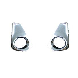 セレナ C27 G X S フォグ ランプ ライト ガーニッシュ 鏡面 クローム メッキ カバー 外装 カスタム パーツ
