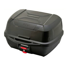 GIVI ジビ リアボックス モノロックケース トップケース 大容量 43L E43NTLD ベース付 カラー 未塗装ブラック 高品質 バイク用ボックス テールボックス