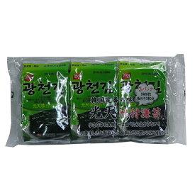 光天 韓国味付けのり3袋 24個セット【送料無料】【海苔 のり ノリ】【韓国のり】【送料無料】