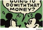 ディズニースミノエラグマットシリーズミッキーコミックフレームマット【サイズ:約50cm×80cm】【日本製】Disney/MICKEY/Comicframemat【50×80DMM-4059】