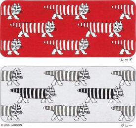 リサ・ラーソン マイキー キッチンマット[QE1002-15・95]日本製【サイズ:約50cm×120cm】デザイナーズブランド 【LISA LARSON】洗濯機洗いOK 滑り止め加工 抗菌 防臭 吸水 速乾