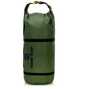 【GeerTop】テント コンプレッションバッグ (2-3人用テントに適応) S テント収納バッグ ドライバッグ スタッフサック 圧縮バッグ ダッフルバッグ 防水 調整可能 軽量 キャンプ アウトドア(ア