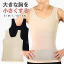 ナベシャツ 胸つぶし 薄型編みパワーネット 和装ブラ 胸揺れ防止 トラシャツ レディース バストダウン スポーツブラ n…
