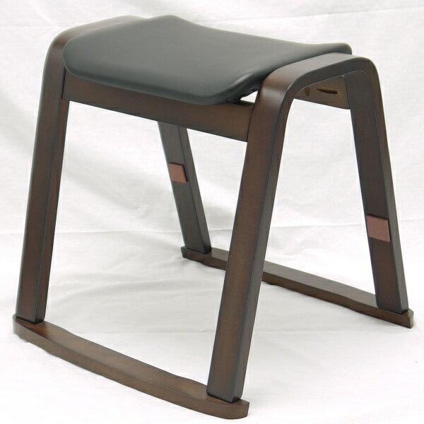 スツール 曲げ木 (座面は ブラック 色、完成品) 送料無料 (北海道・沖縄・離島を除く。)4脚まで 積み重ね 可能です♪ スタッキングチェア 曲脚 スタッキングチェアー イス 椅子 いす 曲げ木 曲木 曲げ脚 ダイニングチェア ダイニングチェアー 木製