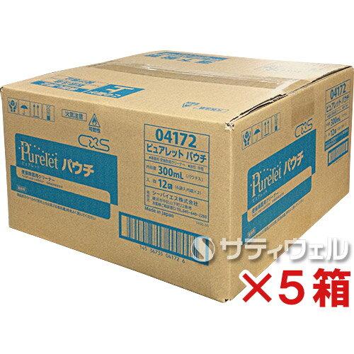 【送料無料】シーバイエス(ディバーシー) ピュアレット 300ml 12個入×5箱セット(60個)