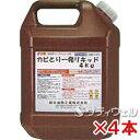 【送料無料】鈴木油脂工業 かびとりいっぱつリキッド 4kg 4本セット